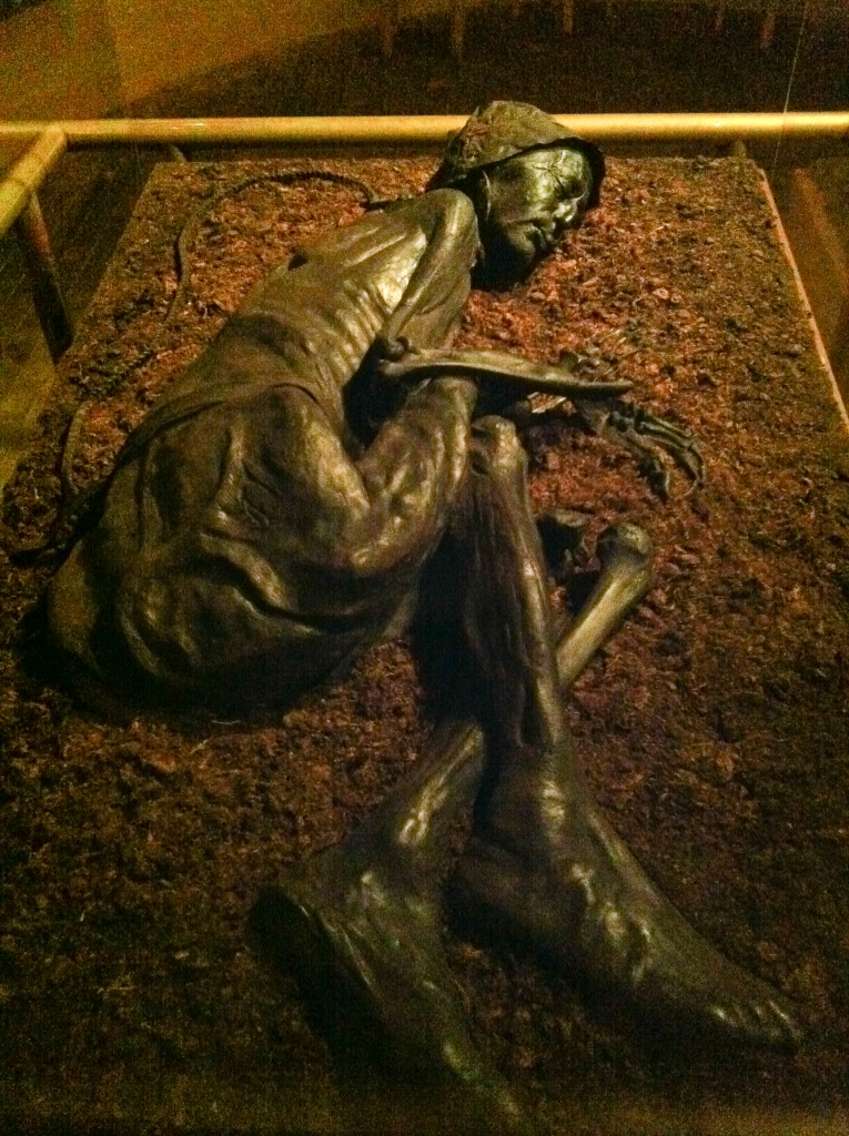 essay on the tollund man I feel that you search the memory of the tollund to get answers but you do not want to risk blasphemy and consecrate the cauldron bog/ our holy ground and pray/ him to make germinate it is my interpretation that in your mind the tollund man is the key to enlightenment.